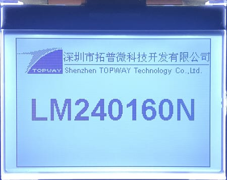 LM240160NCW product  picture
