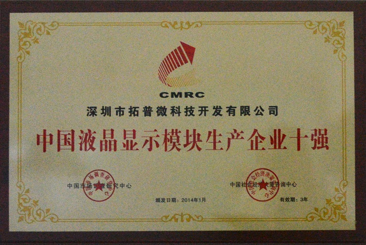 topway top 10 LCD manufacturer